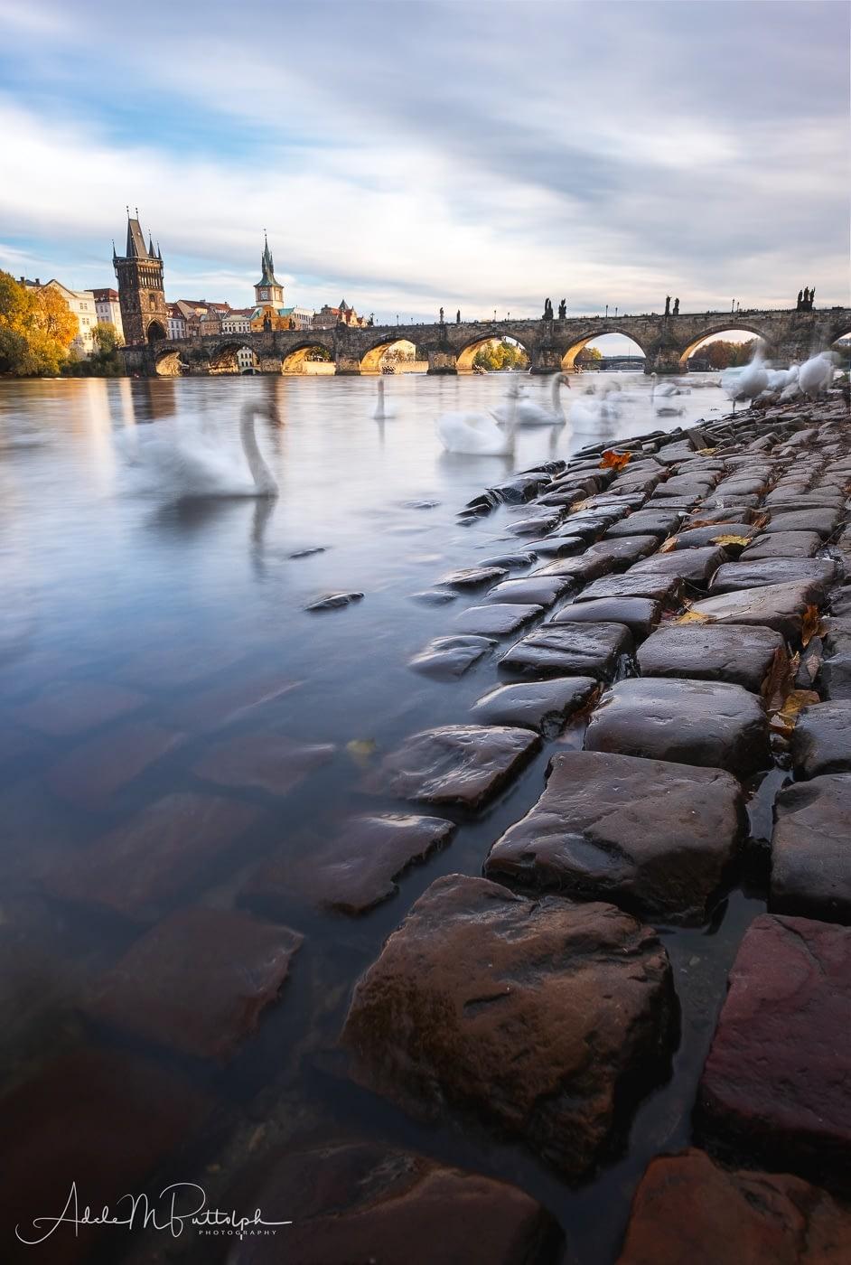 Vltava River Prague Czech Republic