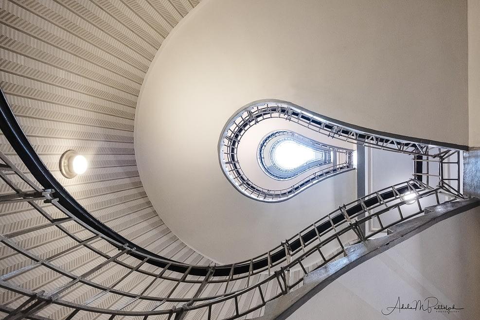 Lightbulb Staircase Prague Czech Republic