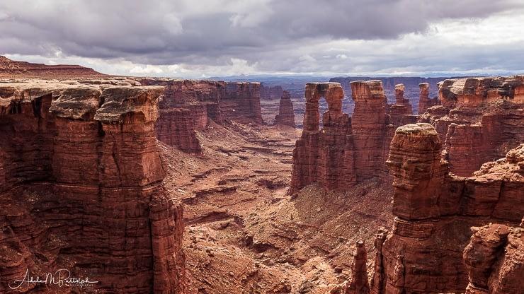 Monument Basin Canyonlands National Park