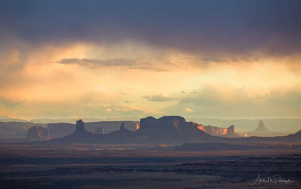 Monument Valley from Afar by Adele Buttolph