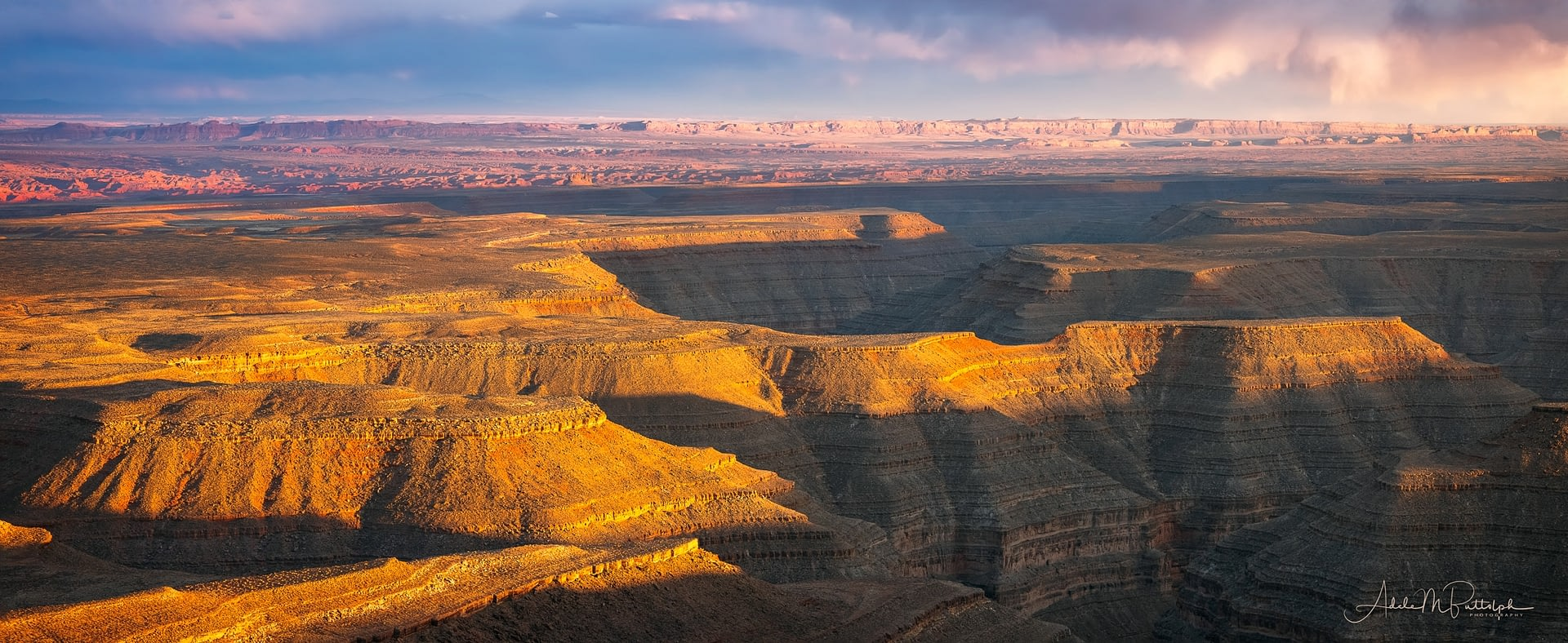San Juan River Canyons from Muley Point, Utah
