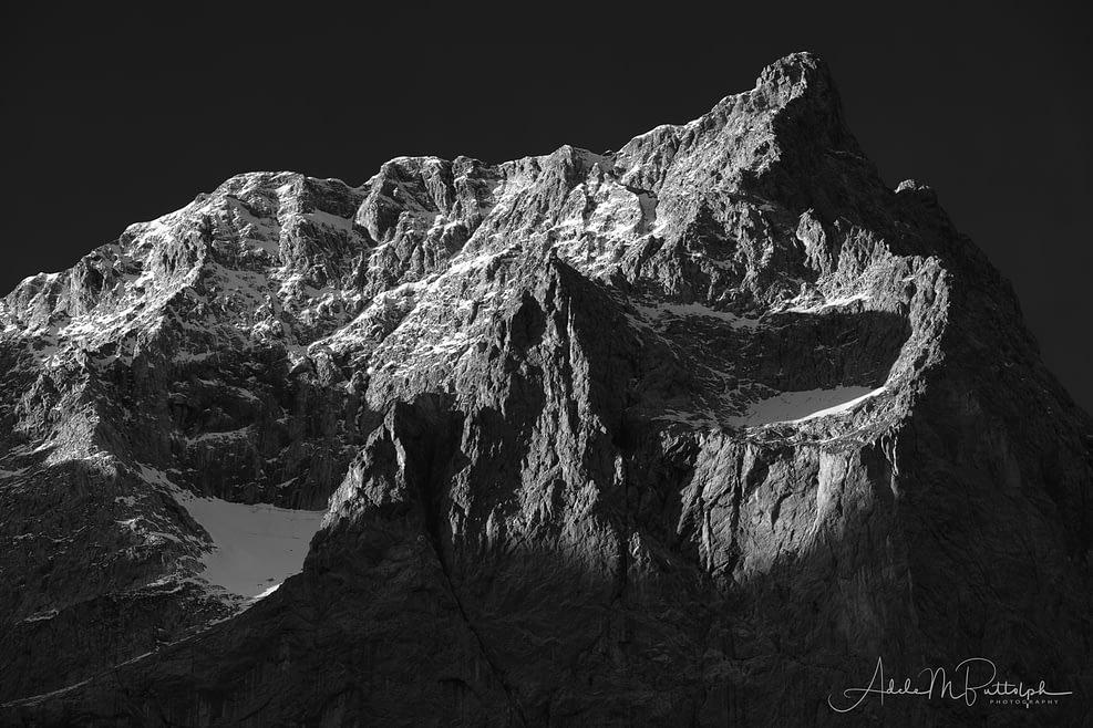 Dawn Breaks on Spritzkarspitze by Adele Buttolph