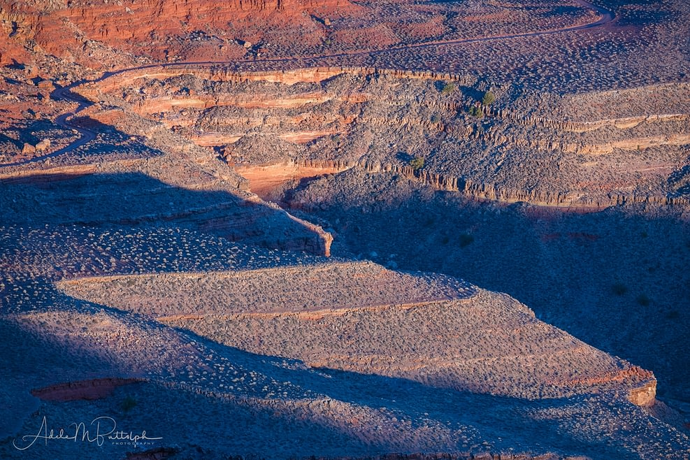 Curves of Johns Canyon by Adele Buttolph