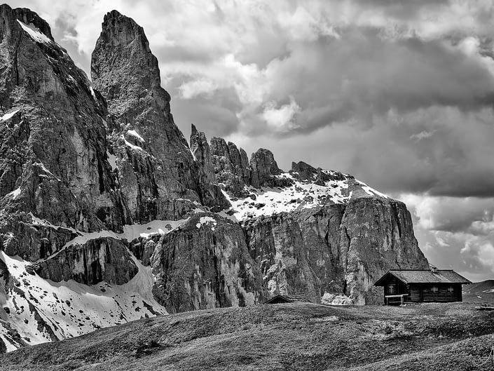 Dolomites of Val Gardena, Italy. © Adele M. Buttolph, © Adele M. Buttolph, © Adele Buttolph. adelembuttolphgallery, adelembuttolphphotography