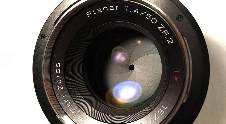 Zeiss zf.2 50mm f/1.4 lens for Nikon