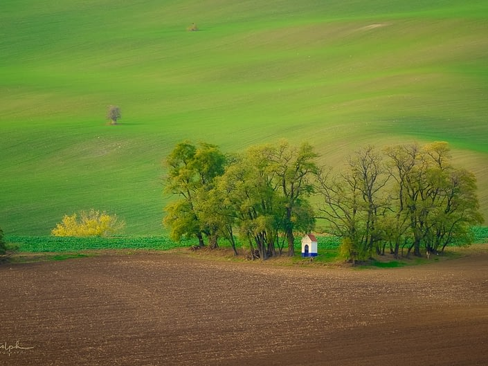 Saint Barbara Chapel, Moravia, Czech Republic